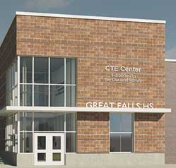 CTE Center, donation by the Oakland Family