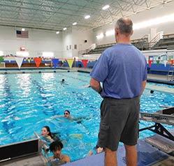 Pool At Great Falls High School