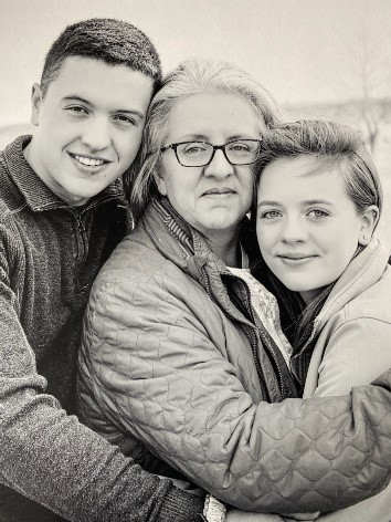 Deb Garrity With Her Children